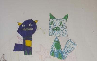 Gatos – Figuras Geométricas – 4.º A
