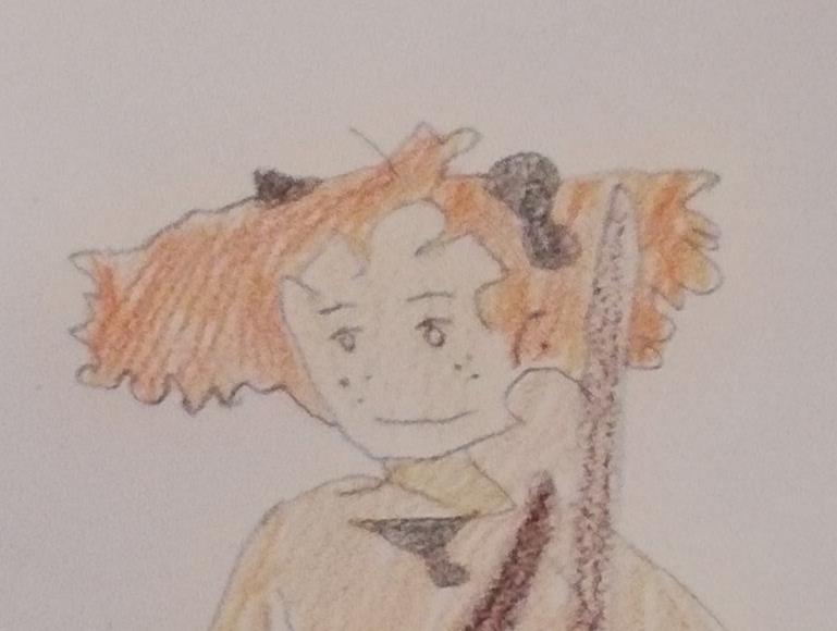 """Desenhos do filme  """"Mary e a Flor da Feiticeira"""" – 4.º A – EB N.º 195"""